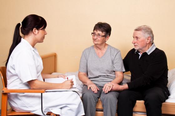 Betreuung  eines Patienten